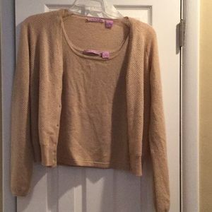 Cashmere sweater set
